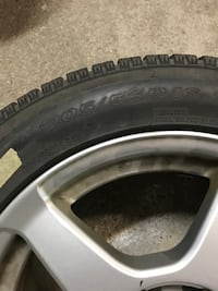 2 winter tires. Also a 3 tire for 50 extra. They are in good conditon Toronto, M3M 2P6