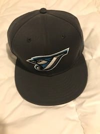black and gray fitted cap Saugus, 01906