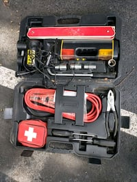 Michelin Roadside Emergency Kit, Booster Cables Lug Wrench Inflator To Alexandria, 22311