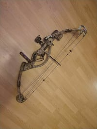brown compound bow Olean, 14760