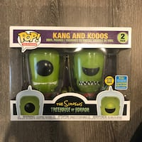 Funko Pop! Kang and Kodos (Glow in the Dark) from SDCC 2019 Vaughan