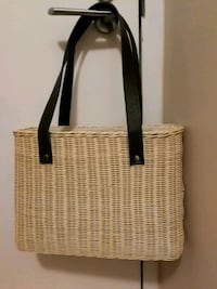 (Brand new)Wicker Basket BAG Toronto