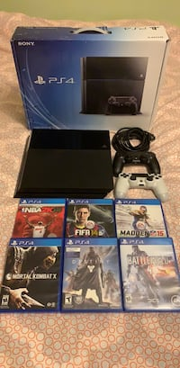 PS4 500GB w/ 2 controllers and 6 games Watchung, 07069
