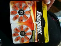 Energizer EZ turn hearing aid batteries Boulder City