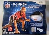 (NIB) EA Sports Active: NFL TRAINING CAMP Wii Fitness Game+Motion Sensors BUNDLE Rockville