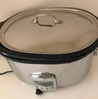 All clad stainless steel 7qt slow cooker programmable Villa Park, 60181