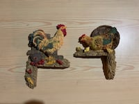 Chicken statues for the corners of door frames/windows