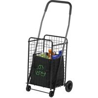 Honey Can Do Steel Folding 4-Wheel Utility Rolling Cart, Black| SKU# 52136 Santa Ana