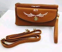 brown leather Coach crossbody bag Sacramento, 95838