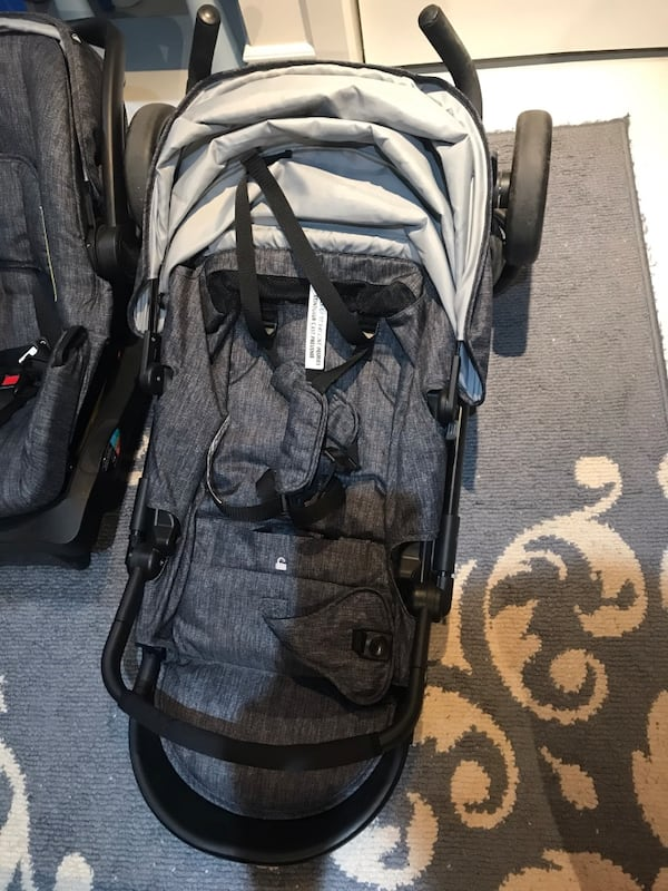 Stroller with car seat and toddler stand board retailers price is 290 68ea99e5-096c-4e58-967d-9538883a5d07