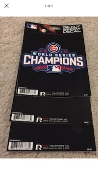 Any Cubs decal in picture is $2 each decal ~ discount for multiple purchases Glenview, 60026
