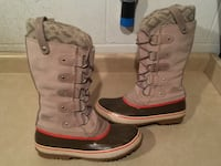 Women's Size 9.5 Sorel Joan Of Arctic Knit II Insulated Winter Boots London