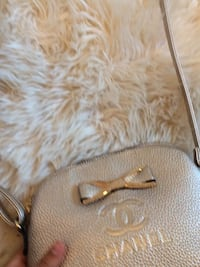 Champagne colored cross body Beaconsfield, H9W 3Z7