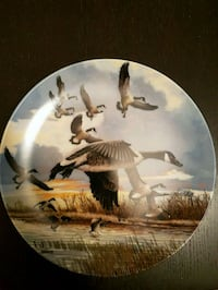 white and brown ceramic decorative plate Toronto, M2M 4B9