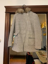 Pretty jacket with faux fur removable hood  Warwick, 02888