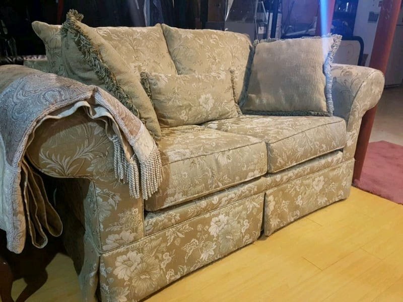 Love seat and sofa  0