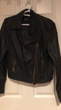 Buffalo brand black Moto pleather jacket Waterloo, N2V 2J3