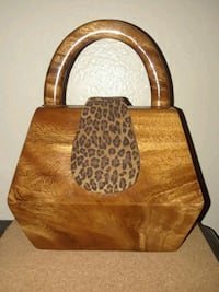Timmy Woods/Wooden bag.