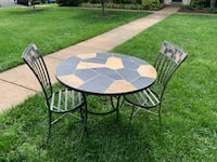Indoor or Outdoor table/chairs/wine rack table/wall shelf - Pier One