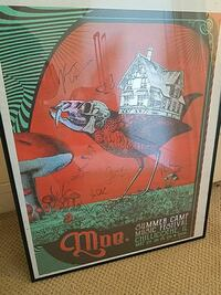 Autographed Moe lithograph today only  Easley, 29642