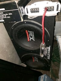 "2 12"" MTX Subwoofers in sealed box Hazel Park, 48030"