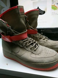 Nike special forces air force 1 size 10.5 New Westminster, V3M 6E2