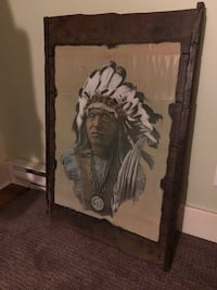 Antique Indian Chief Picture