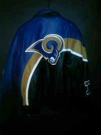 All Leather LA Rams Jacket Barstow, 92311