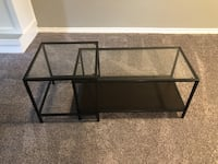 Glass and Metal Coffee Table London, N6L 1A6