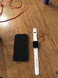 iPhone XR and Apple watch series 4