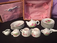 Vintage Children's Mini Tea Set Springfield, 22152