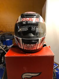 Fulmer Full face motorcycle helmet. Never been worn