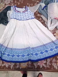 women's white and blue dress Kanpur, 208011