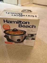 Brand New Hamilton Beach Slow Cooker (oval shape) Alexandria, 22304