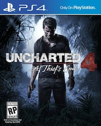 Sony PS4 Uncharted 4 spill plakat Vear, 3173