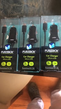 Car charger for android 5dollars each  108 mi