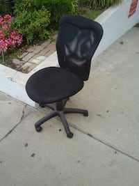 black office rolling chair Los Angeles, 90024