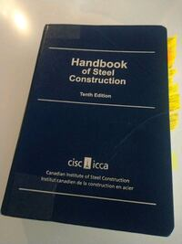 Handbook of steel construction Burnaby, V5H 2W2