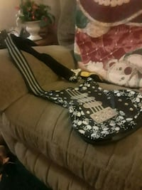 black and white guitar bag with skull print Wilmington, 19804