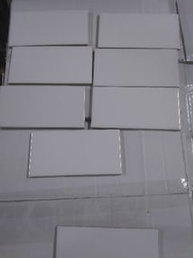 "3"" x 6"" White Subway Tile…Brand New"