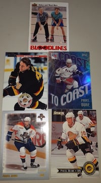 5 Single Cards of Pavel Bure... $5 Firm For All 5 Cards  Calgary