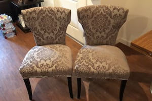 Dining Room Chairs (Pair)