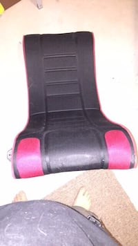 black and red plastic tool