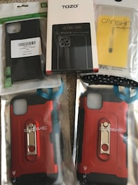 iPhone 11, pro, and pro max cases ($8 each or 2 for $10) Virginia Beach, 23452