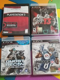 four assorted PS3 game cases Winchester, 22602