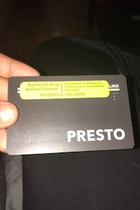 Student presto loaded with 101$ on it Toronto, M3C 1E5