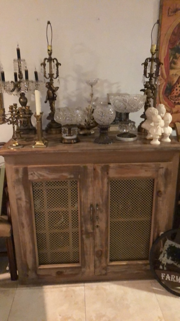 Used Gorgeous Restoration Hardware Pottery Barn Wine Cabinet Bar For In Oakland Park Letgo