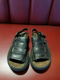 pair of brown  lether sandals.  Antioch, 94509