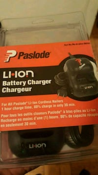 Paslode Lithium-Ion Battery Charger Toronto, M5P 3H9