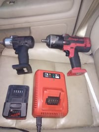 red and black Milwaukee cordless power drill Gaithersburg, 20879
